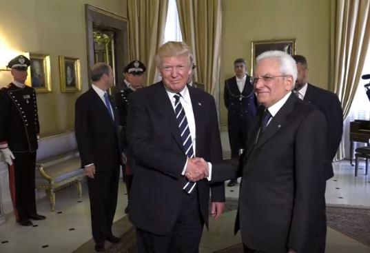 """Il """" controcanto"""" di Mattarella al """" sovranismo"""" e allo scontro commerciale voluto da Trump"""