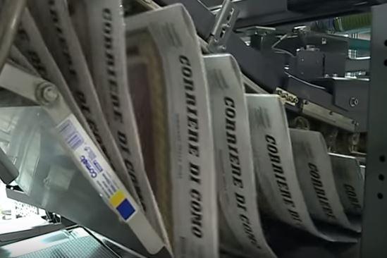 Calo degli investimenti dei gruppi editoriali italiani. Meno 56% in cinque anni