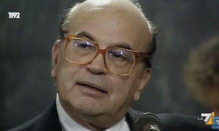 Craxi: troppo presto per la verità – intervista con Giuseppe Sacco